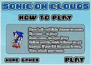Sonic en las nubes