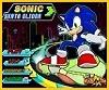 Sonic y su patín planeador