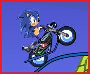 Super Sonic Motociclista Extremo