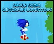 Super Sonic Aventura en la cascada